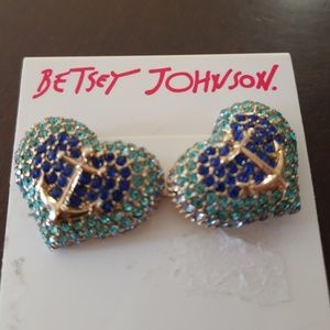 Betsey Johndon earrings